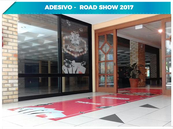Adesivo - Road Show 2017 - 3