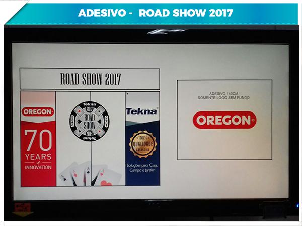Adesivo - Road Show 2017 - 4